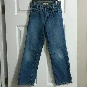 Old Navy Boys Straight leg jeans size 10 Slim